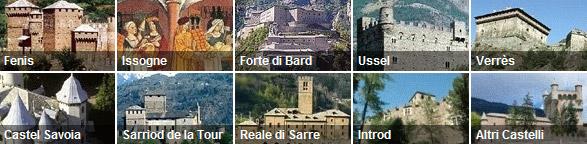 I castelli della Valle d'Aosta